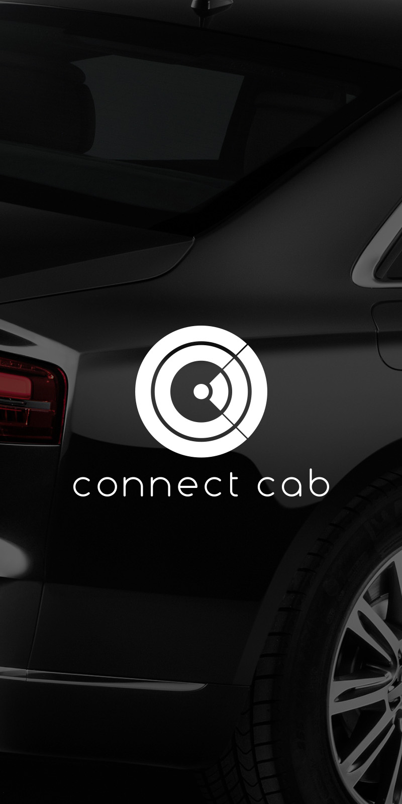Connect cab, VTC, identité visuelle