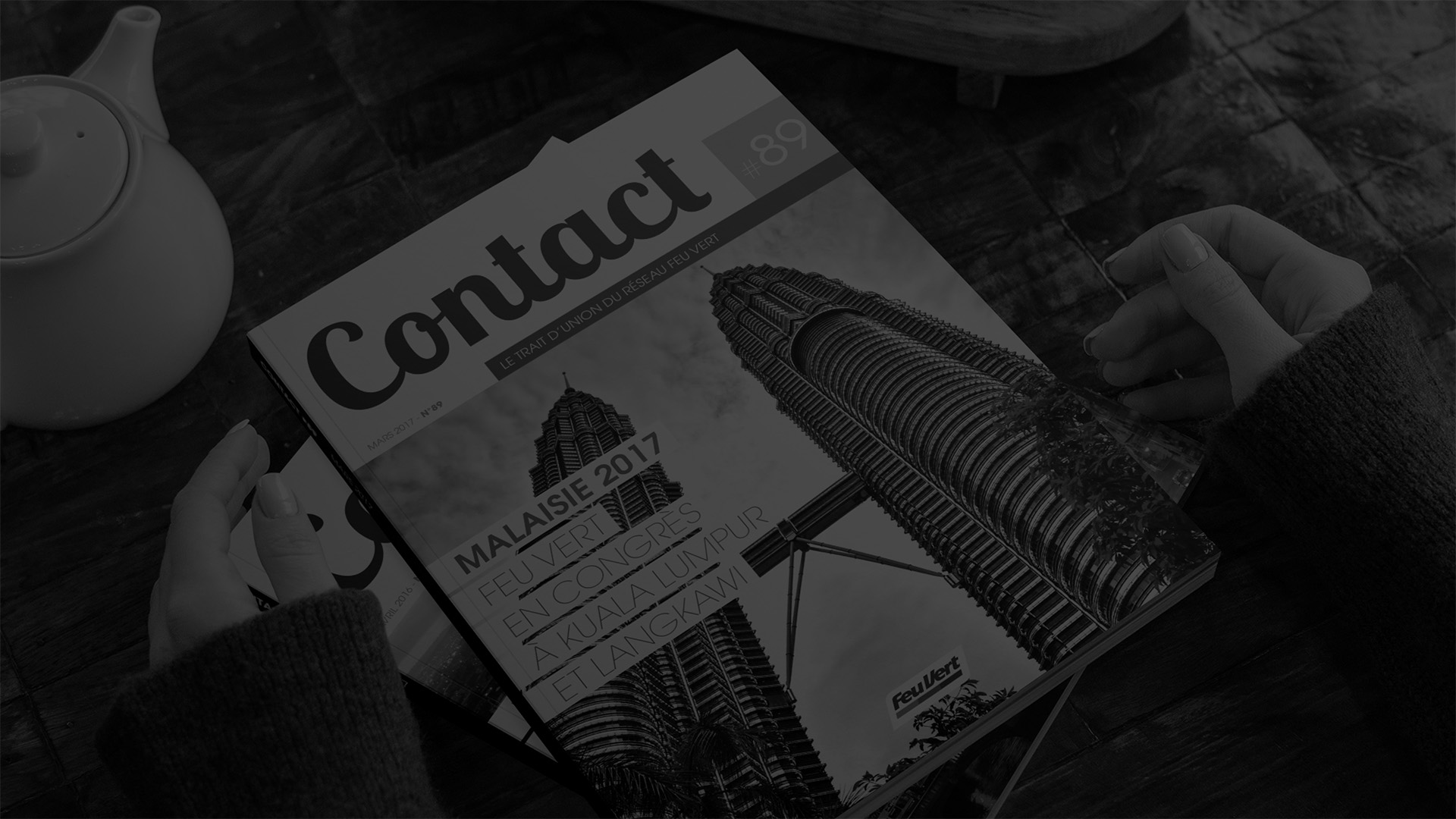 Contact, magazine interne, communication interne