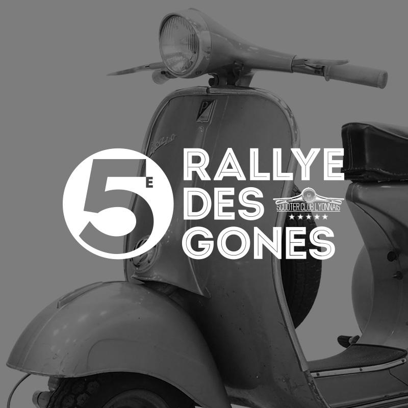 Scooter Club Lyonnais, Rallye des Gones 5