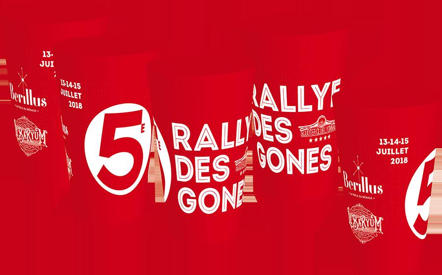 Gobelet réutilisable événement  Rallye des Gones 2018