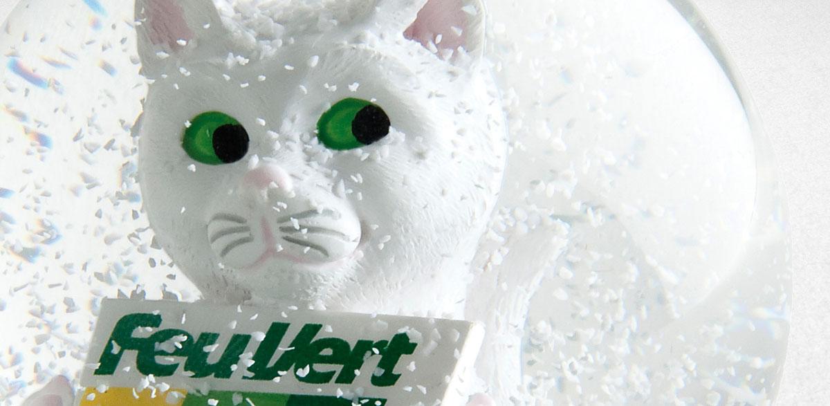 Feu Vert Boule à neige